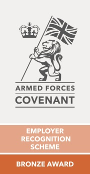 Armed Forces Covenant Employer Recognition Scheme Bronze Award L