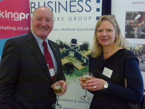 Vince Ware − Business Furniture Group / Louise Cole − Exeter Royal Academy for Deaf Education