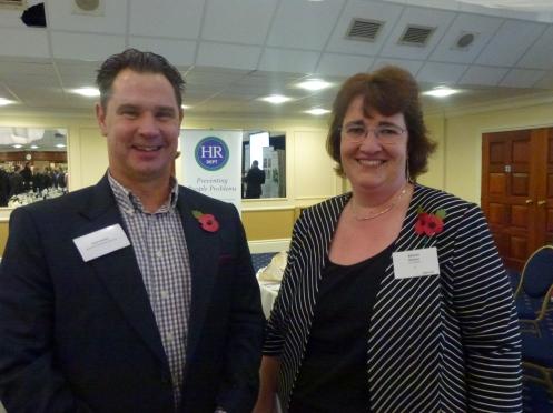 Sean Humby − Business Network (SW) / Belinda Newton − The HR Dept.