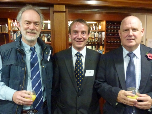 Andrew Armstrong −  West of England School and College / Tim Darby − Exeter Racecourse / Chris Williams − Jelf Group PLC.
