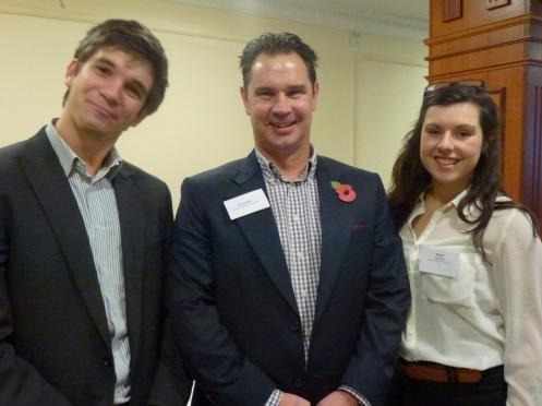 Charlie Martin − Optix Solutions / Sean & Megan Humby − Business Network (SW)