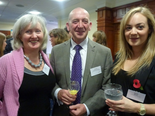 : Cathy Towers − Exeter Mind and Body Clinic / Richard Credland –Proctor − St. James' Place Wealth Management / Harriet Weeks − Exeter Golf Country Club