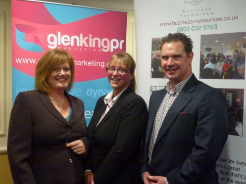 : Glen King − Glen King PR / Catherine Petherick − Audi Exeter / Sean Humby − Business Network (SW)