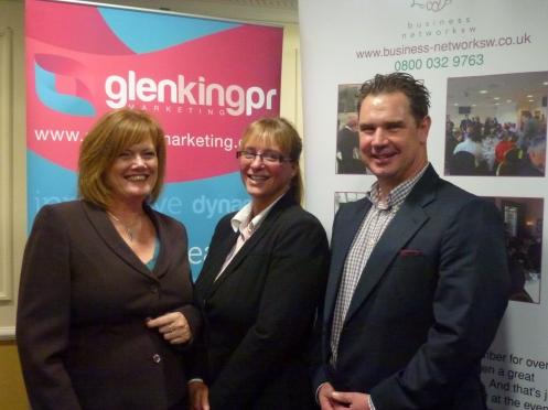 : Glen King − Glen King PR / Catherine Petherick − Audi Exeter / Sean Humby − Business Network (SW)