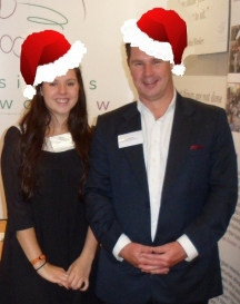 Megan and Sean HumbyHosts of Business Network SW events - it is the Christmas event!