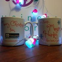 Christmas mugs...