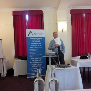 Trevor Vanstone - Amarisk during the seminar - dispelling myths!