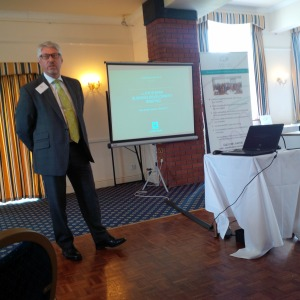 Chris Elliott - Lloyds Bank delivering his 10 minutes - how's your CCC PARRTS with your bank?
