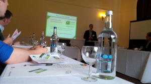 Chris Wood presenting his seminar