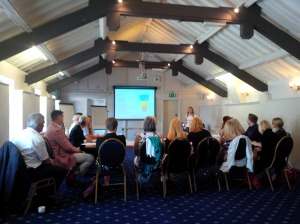 Julia's fabulous seminar on using social media to find,  attract and keep customers...