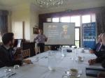 Sam Finlay begins his seminar