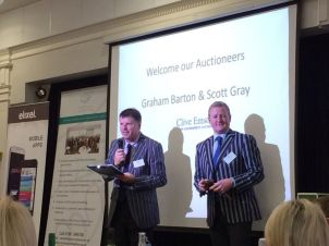 Graham Barton and Scott Gray - Clive Emson West Country in action in 2014!