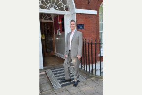 Nigel Wilkinson - WNW Digital outside his central Exeter HQ