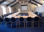 More preparation or anticipation - The Mews at Exeter Golf & CC - ready for Q Social Media's seminar