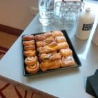 Pastries before the seminar