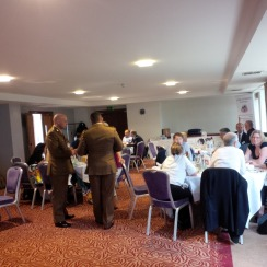 The networking lunch