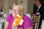 Inge Dowden - Business Growth & Happiness Expert delighted with her free gift from Matt Richardson - Recognition Express