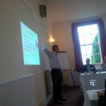 Richard Hussey delivering his fantastic seminar