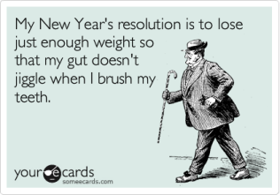 Best funny new year cards 2016 Having A Fresh Start At Binge Eating (3)
