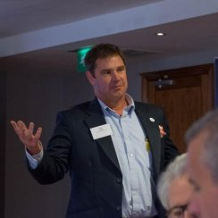 Sean Humby - event host
