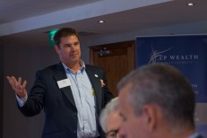 Sean Humby - event host and writer of the A-Z