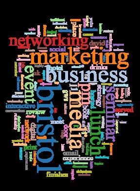 Bristol Business Network wordcloud